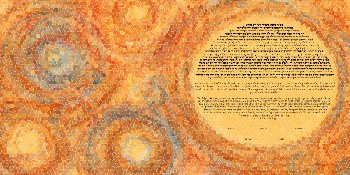 The Sweet Hive Mo­sa­ic Ke­tubah
