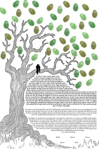 The Oak Ke­tubah