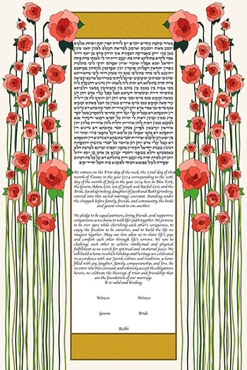 The De­co Flow­ers Ke­tubah