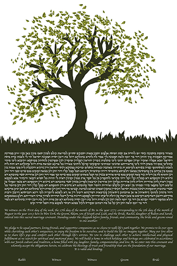 Tree Bound I Ke­tubah