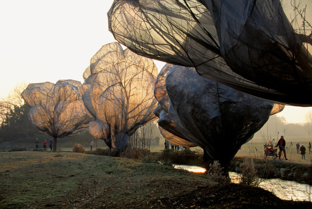 Christo and Jeanne-Claude Wrapped Trees