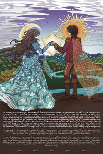 The Earth, Wind & Us Ke­tubah
